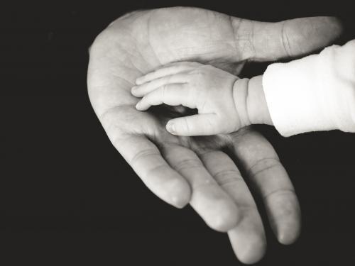 Parent/child hand